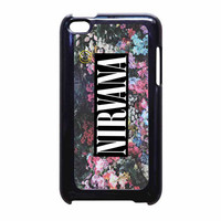 Nirvana Logo Floral Flower Design iPod Touch 4th Generation Case