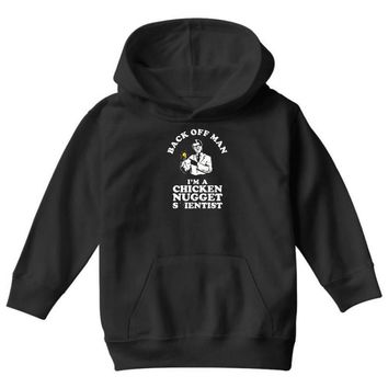 chicken nugget scientist Youth Hoodie