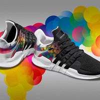 shosouvenir : Adidas EQT SUPPORT ADV Pride LGBT Men's and women's shoes, casual sports shoes