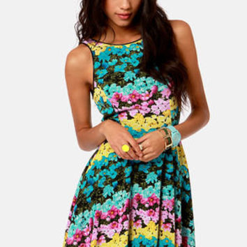 Daisies of the Week Floral Print Dress