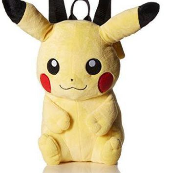 "Pokemon Pikachu 17"" Plush Backpack"