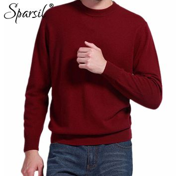 Sparsil Mens Cashmere Blend Sweater