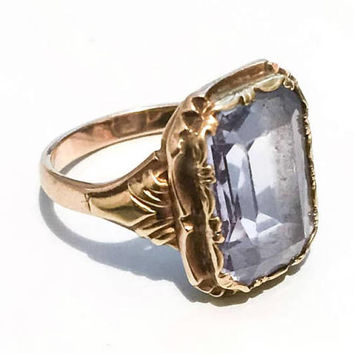 Spinel Ring, 14K Gold, European Gold 585, Vintage SALE