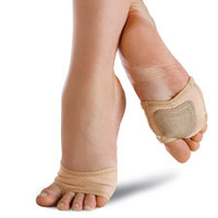 Neoprene Half Sole Lyrical Dance Shoe; Danshuz