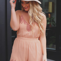 Picking Peaches Romper