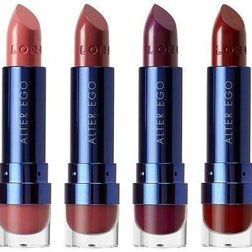 LORAC 6-Piece Love, Lust & Lace Alter Ego Lipstick Set
