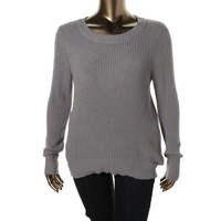 Only Mine Womens Knit Boatneck Pullover Sweater