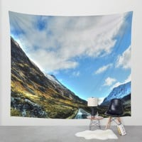 Road Wall Tapestry by Haroulita | Society6