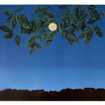 La Page Blanche Art Print by Rene Magritte at Art.com