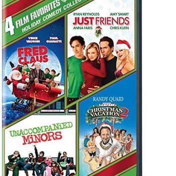 Holiday Comedy - 4 Film Favorites: (Fred Claus / Just Friends / National Lampoon's Christmas Vacation 2… / Unaccompanied Minors)
