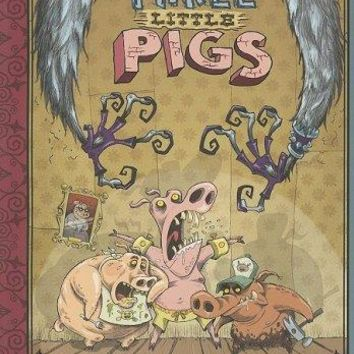 The Three Little Pigs Graphic Spin