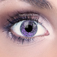 Glimmer Violet Contact Lenses | Coloured Contact Lenses