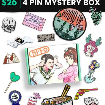 4 Pin Mystery Box (Patches optional)