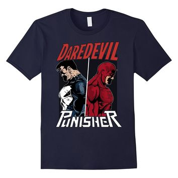 Marvel Daredevil The Punisher Only One Way Graphic T-Shirt