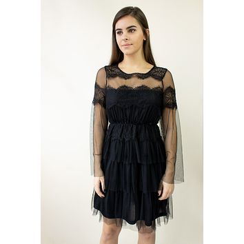 Natalina Dress - black