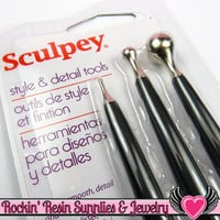 Sculpey Polymer Clay Style & Detail Tools Double Sided