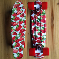 Strawberry Penny Board