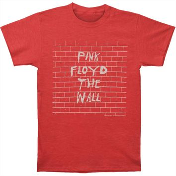 Pink Floyd Men's  The Wall T-shirt Red