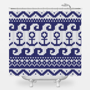 All Is Lost Shower Curtain