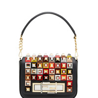 Fendi Studded 3Baguette Shoulder Bag - Multi-Colored Embellished Bag