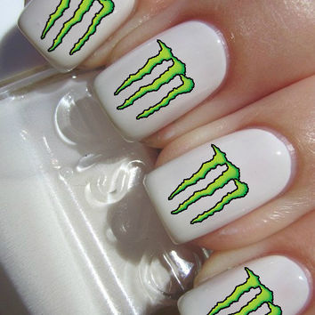 Monster Energy Nail Decals