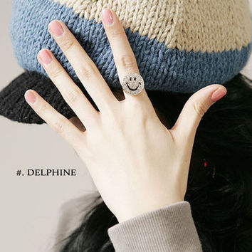 Stylish New Arrival Shiny Gift Jewelry Alloy Accessory Hot Sale Korean Lovely Ring [6586343047]