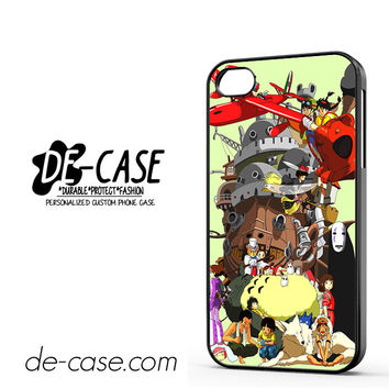 Mononoke Totoro Anime Manga DEAL-7375 Apple Phonecase Cover For Iphone 4 / Iphone 4S
