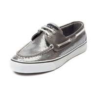 Womens Sperry Top-Sider Bahama Boat Shoe, Pewter | Journeys Shoes