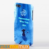 The Lion King Hakuna Matata Remember Who You Are iPhone 4/4S, 5/5S, 5C Series Full Wrap Case