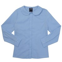 French Toast School Uniform Peter Pan Collar Blouse - Girls