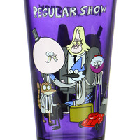 REGULAR SHOW PINT GLASS