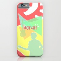 Geometric Niall Horan iPhone & iPod Case by Antisthetic