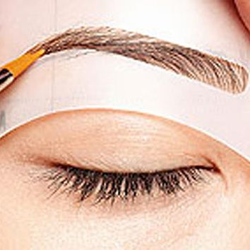 4pcs Magic Eyebrow Stencil