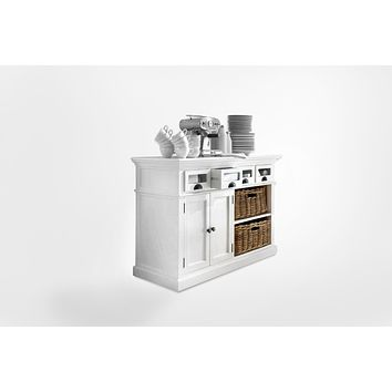 Halifax French Countryside Kitchen Buffet White Semi-gloss
