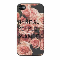 American Horror Story Normal People Scare Me iPhone 4 Case