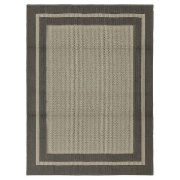 Mohawk Tufted Sisal Accent Rug - Gray (4'x6')