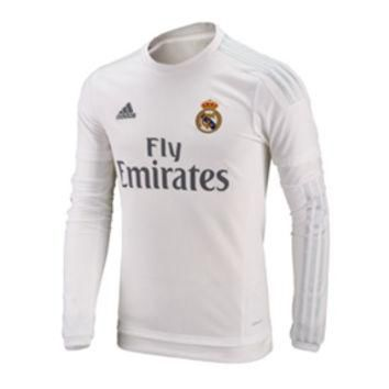adidas Real Madrid Long Sleeve Soccer Jersey (Home 2015/16) @ SoccerEvolution.com Socc