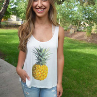 Sweet As Pineapple Tank