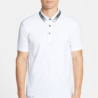 HUGO 'Deltic' Slim Fit Painted Collar Polo