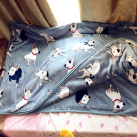 Hot- HARAJUKU dog bed sheet lounged blanket autumn and winter blanket big blanket ropa de cama home textile