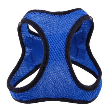 Adjustable Soft Breathable Dog Harness Polyester Mesh Vest harness Pet Supplies Chihuahua Yorksh WITHOUT Leash
