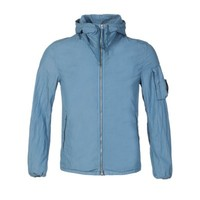 C.P. Company Sky Blue Lens Arm Hooded Jacket