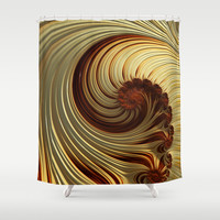 Milk Chocolate Shower Curtain by Steve Purnell