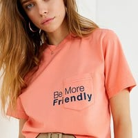 Cooke Collective Be Friendly Cropped Tee | Urban Outfitters