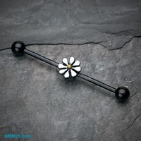 Blackline Daisy Industrial Barbell