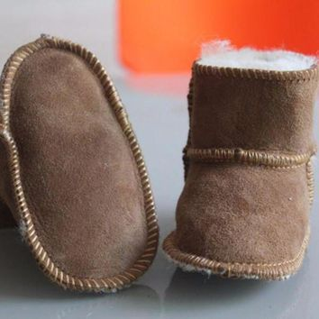 ICIK8X2 Uggs Inspired Baby Winter Boots