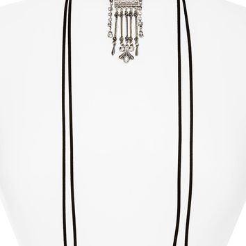 Topshop Crystal Pendant Wrap Choker | Nordstrom