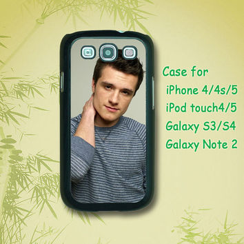 Josh hutcherson - Samsung Galaxy S4 case, Samsung Galaxy S3 case, Samsung Galaxy note 2 case, iPhone 4 Case, iPhone 5 Case, The Hunger Games