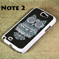 Owl Symbol Samsung Galaxy Note 2 Hard Case