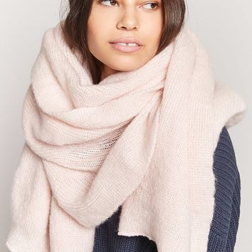 Oversized Knit Scarf